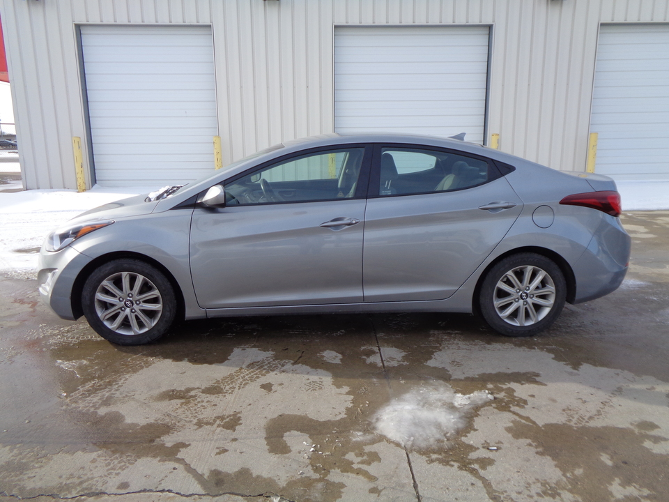 2014 Hyundai Elantra 4 Door , Gray Cloth  - 5281  - Auto Drive Inc.