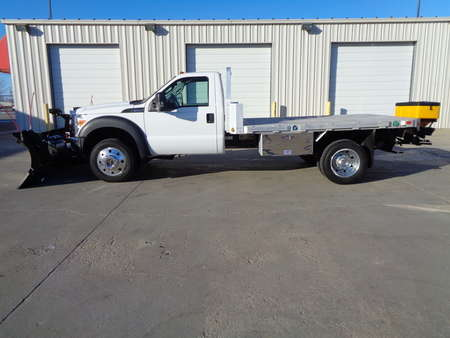 2012 Ford F-550 NEW BOSS Plow & SnowEx Sander for Sale  - 3799  - Auto Drive Inc.