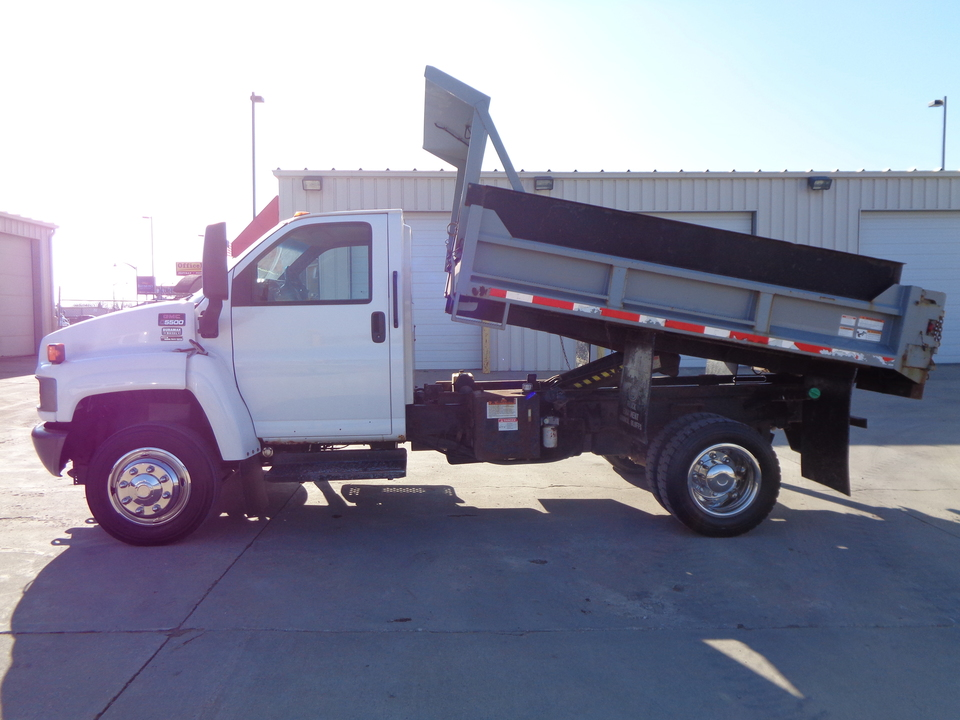 2007 GMC C5500 Regular Cab Duramax Diesel Dump Truck 1 Owner  - 4095  - Auto Drive Inc.