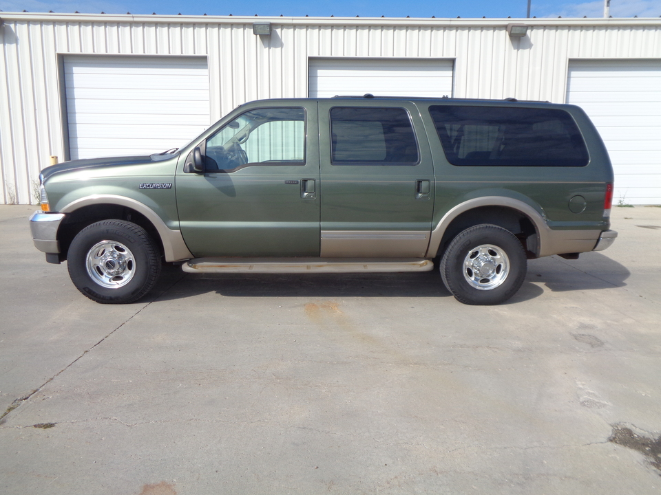 2002 Ford Excursion Tan Leather Third Row Seating Loaded Nice Unit  - 8014  - Auto Drive Inc.