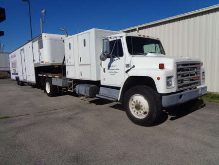 1988 International 4700 Food Truck Set Up. Combo set up with trailer. for Sale  - 8746  - Auto Drive Inc.