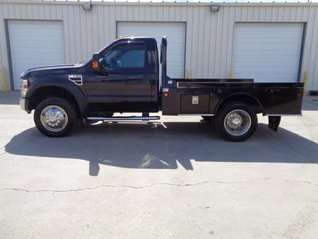 2008 Ford F-550 Regular Cab Flatbed Dually 4x4 6.4 Turbo Diesel for Sale  - 5361  - Auto Drive Inc.