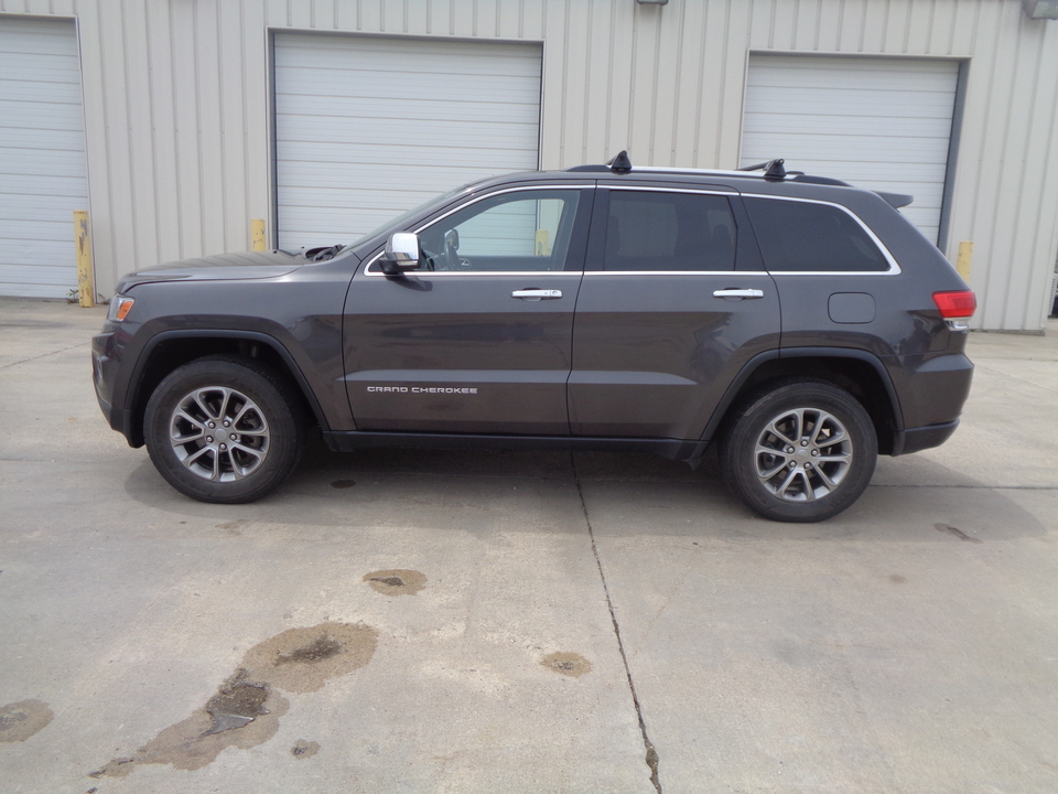 2014 Jeep Grand Cherokee LTD Limited. Black Leather. Loaded. Moonroof.  - 1227  - Auto Drive Inc.