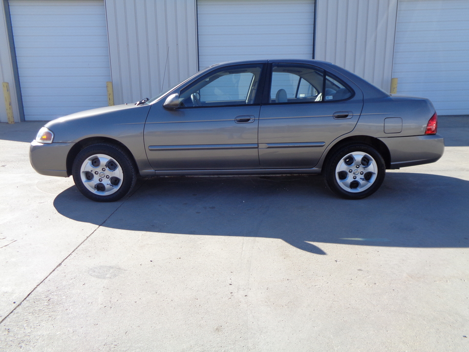 2005 Nissan Sentra One Owner, Tan Cloth excellent fuel mileage!  - 5527  - Auto Drive Inc.