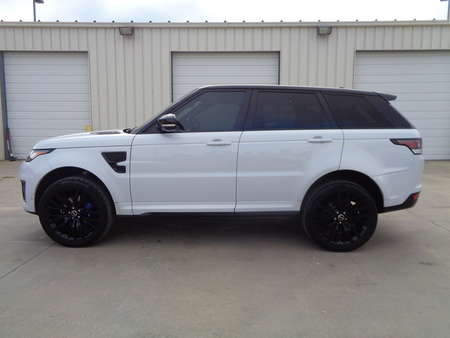 2016 Land Rover Range Rover Sport Dual panel sunroof, Black & Red Leather SVR for Sale  - 2810  - Auto Drive Inc.
