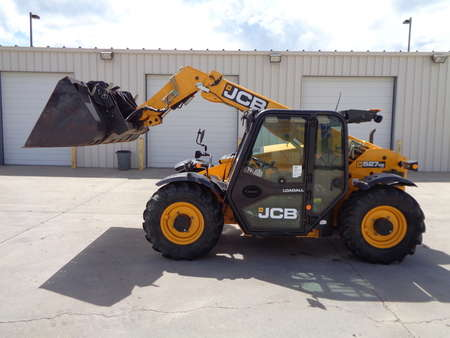 2014 JCB 527-58 AGRI LoadAll Telehandler with Forks and Bucket for Sale  - 0926  - Auto Drive Inc.
