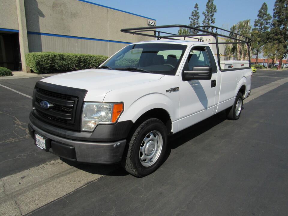 2014 Ford F-150 XL LONG BED /LUMBER RACK & BOXES  - 9168  - AZ Motors