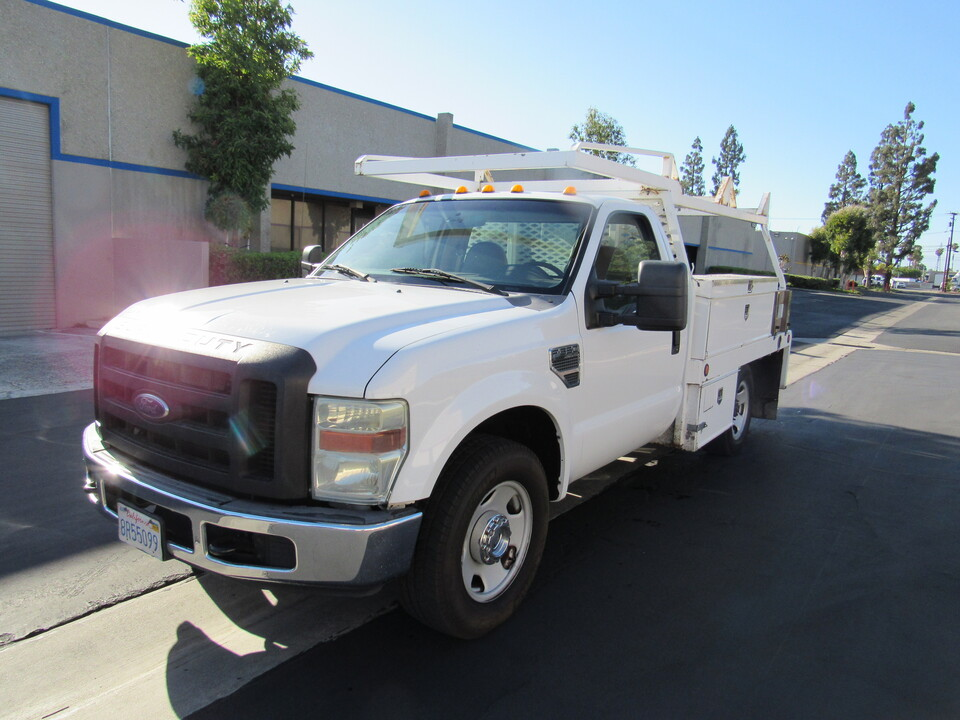 2008 Ford F-350 XL-8' STACK BED WITH UTILITY BED  - 6218  - AZ Motors