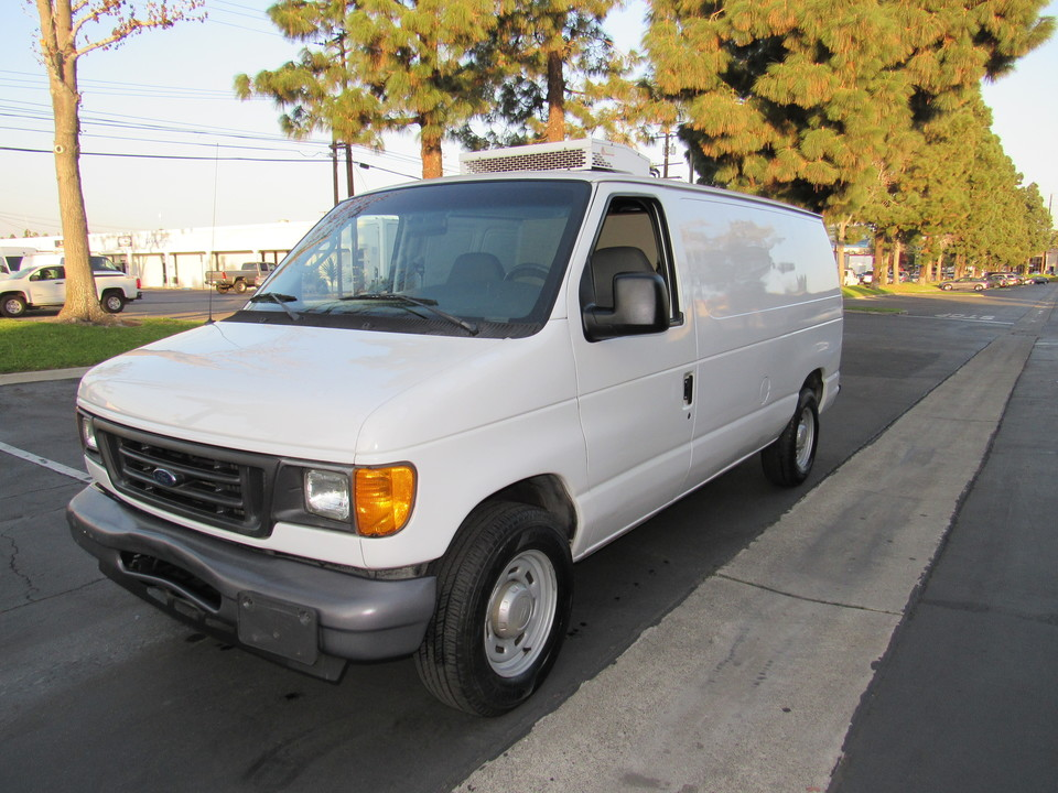 2006 Ford Econoline REFFER ,Cargo Van E150  - 0765  - AZ Motors