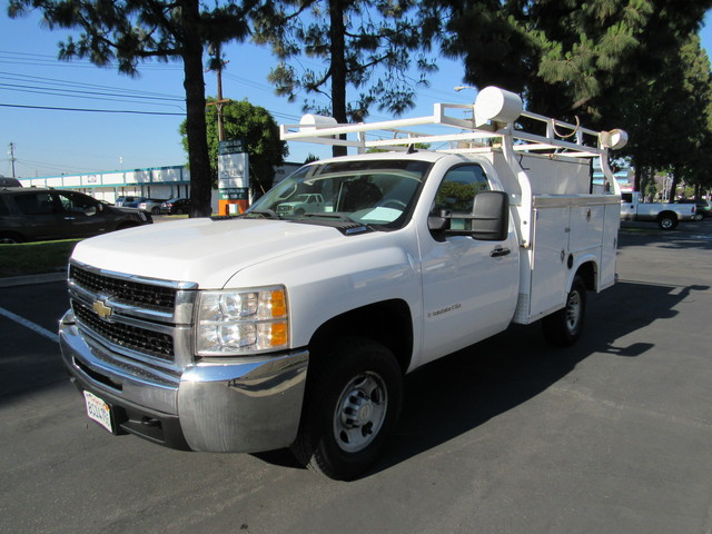 2008 Chevrolet Silverado 2500hd Utility Bed Work Truck