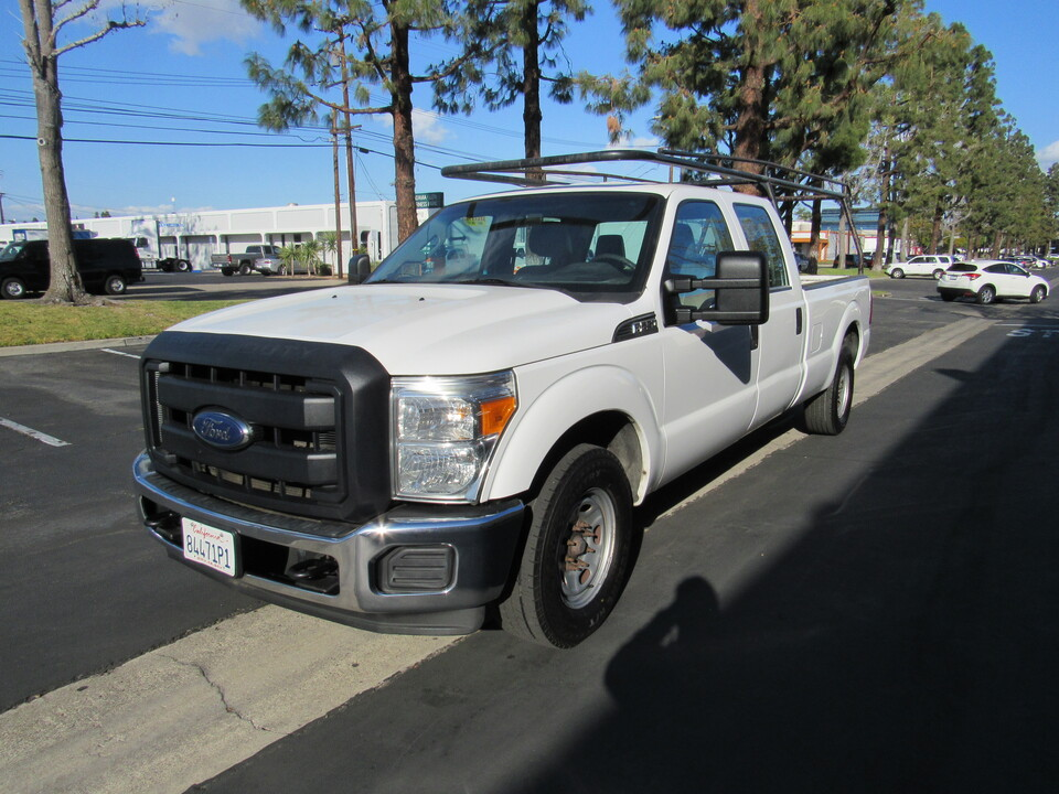 2015 Ford F-250 XL CREW CAB LONG BED /LUMBER RACK  - 6244  - AZ Motors