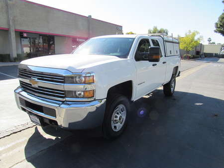 2016 Chevrolet Silverado 2500HD crew cab 4wd short bed-Work Truck 6.0L V8 for Sale  - 4020  - AZ Motors