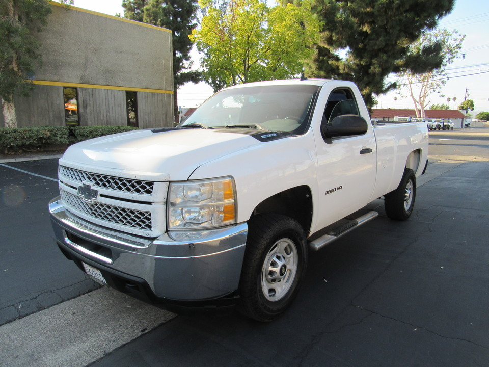 2012 Chevrolet Silverado 2500HD REG CAB LONG BED 4WD-Work Truck  - 1215  - AZ Motors