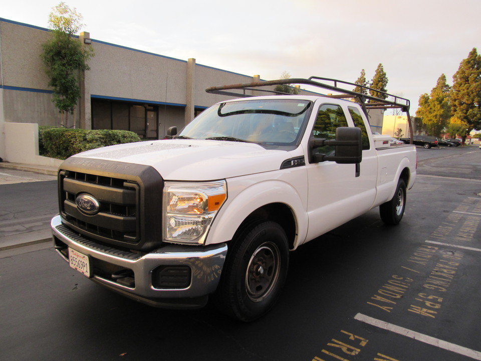 2015 Ford F-250 SUPER CAB LONG BED-XL-LUMBER RACK-  - 55564  - AZ Motors