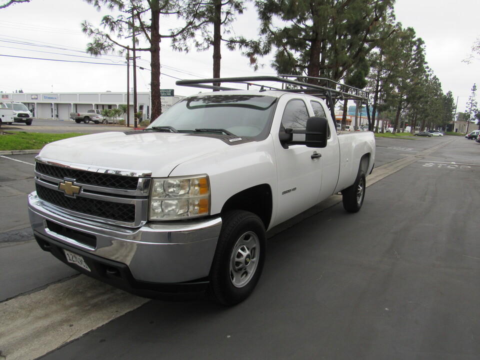 2011 Chevrolet Silverado 2500HD Work Truck xcab long bed /lumber rack  - 5336  - AZ Motors