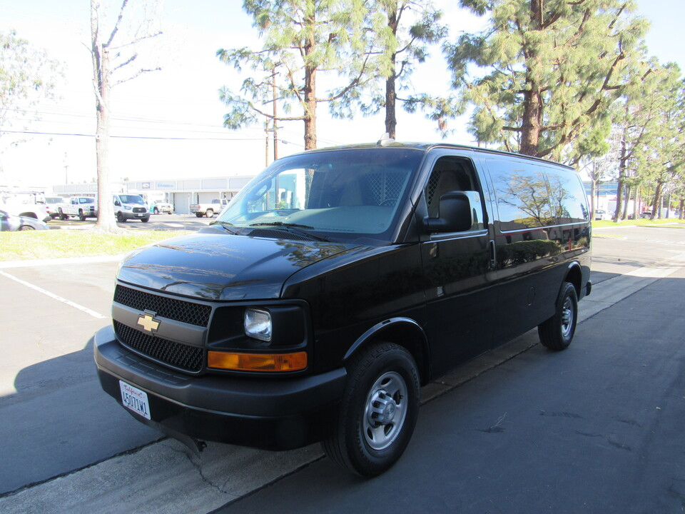 2016 Chevrolet Express Cargo Van-BLACK-6.0L V8  - 8411  - AZ Motors