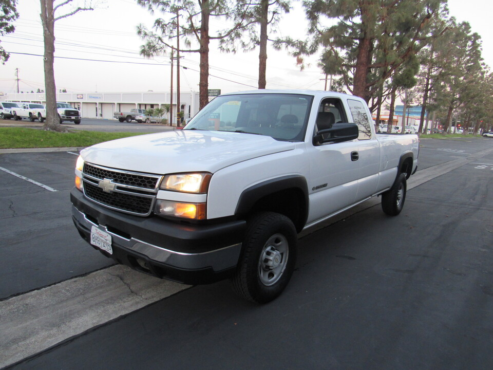 2007 Chevrolet Silverado 2500HD Work Truck EXTENDED CAB LONG BED  - 1654  - AZ Motors