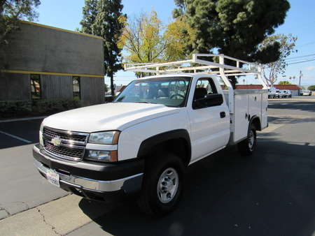 2007 Chevrolet Silverado 2500HD utility bed -Work Truck for Sale  - 4336  - AZ Motors
