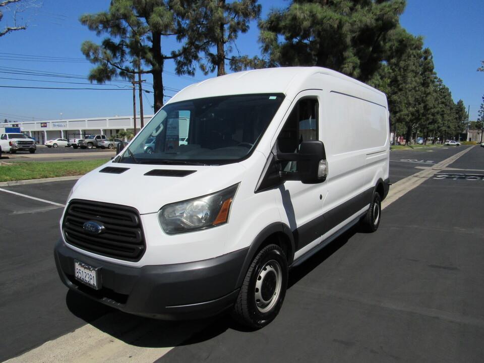 2015 Ford Transit Cargo Van MED ROOF T 250 148  - 0730  - AZ Motors