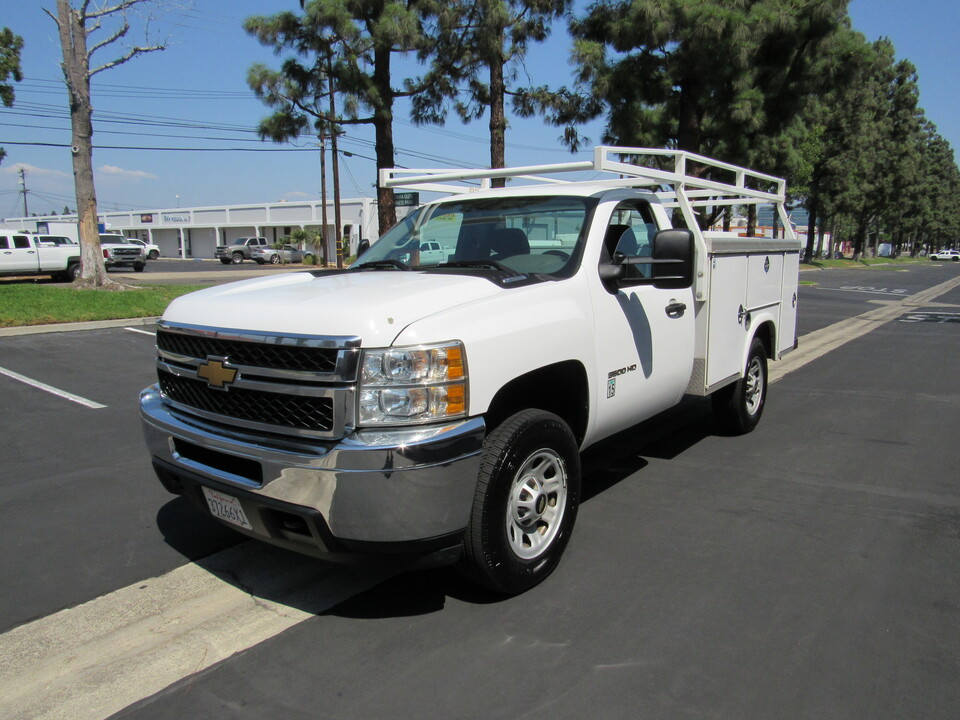 2012 Chevrolet Silverado 3500HD UTILITY BED-Work Truck  - 3261  - AZ Motors