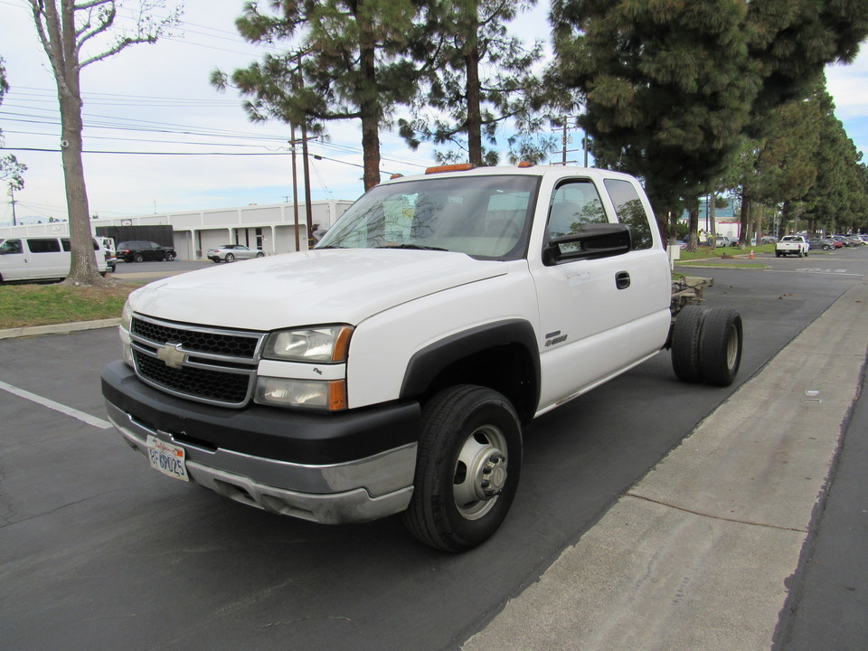 2007 Chevrolet Silverado 3500 4WD/DURAMAX DIESEL LS  cab & chassis xcab  - 7758  - AZ Motors