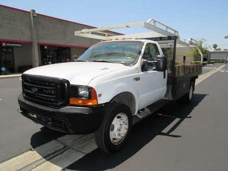 1999 Ford Super Duty F-450 V10 GAS-XL Reg cab 12' stack bed /lumber rack for Sale  - 4293  - AZ Motors