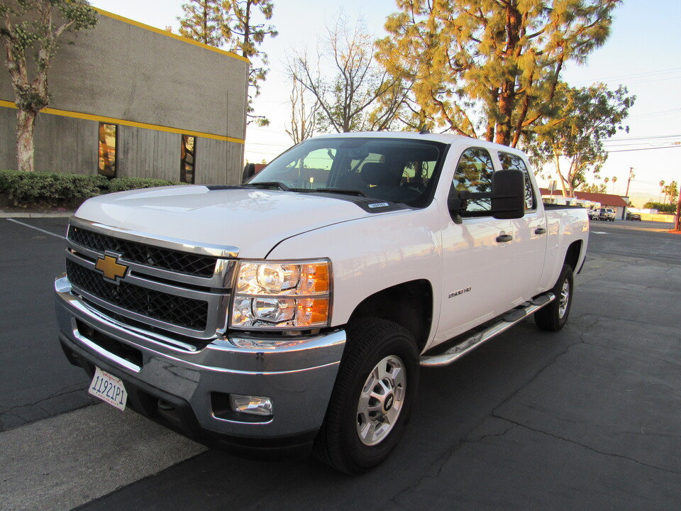 2014 Chevrolet Silverado 2500HD LT CREW CAB SHORT BED 2WD  - 9544  - AZ Motors