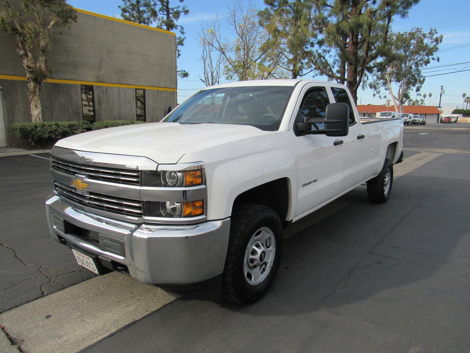 2015 Chevrolet Silverado 2500HD Work Truck DOUBL CAB LONG BED 4X4  - 3052  - AZ Motors