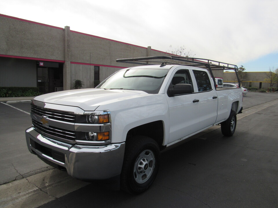 2015 Chevrolet Silverado 2500HD Built After Aug 14 Work Truck crew cab 2wd long bed /lumber rack  - 1452  - AZ Motors