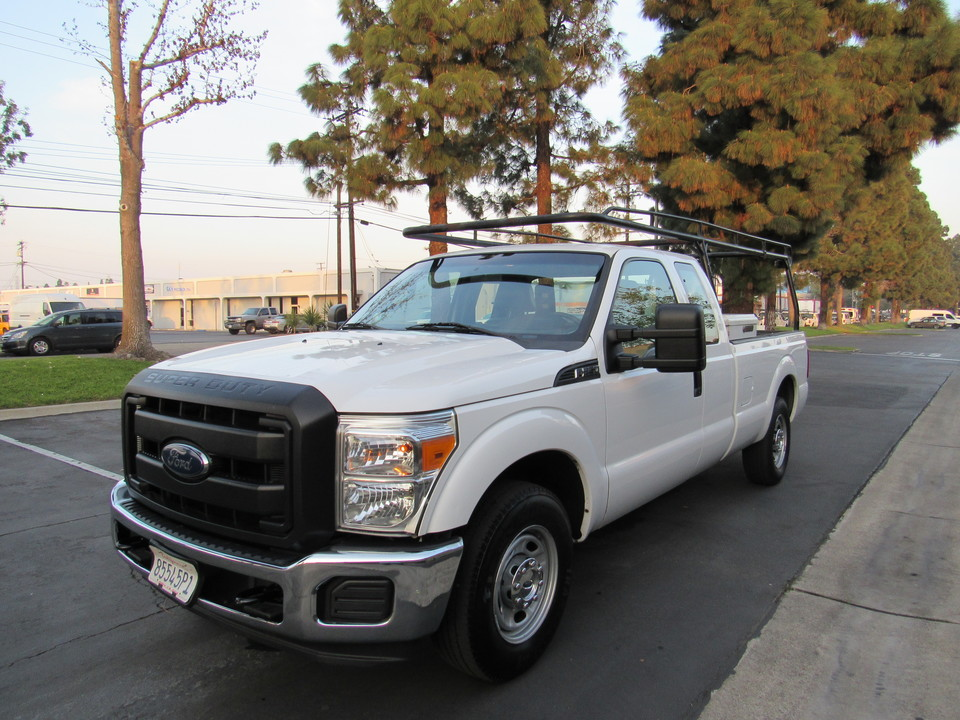 2015 Ford F-250 super cab long bed XL lumber rack /box  - 7154  - AZ Motors
