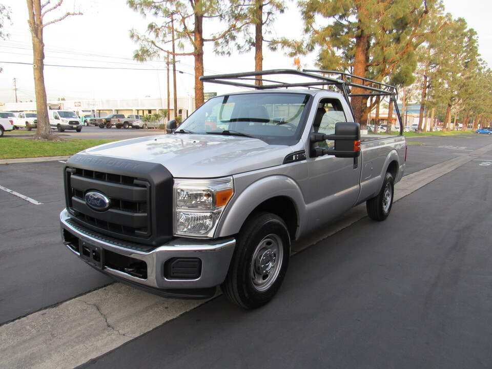 2012 Ford F-250 XL REG CAB LONG BED lumber rack & tommy lift  - 0795  - AZ Motors