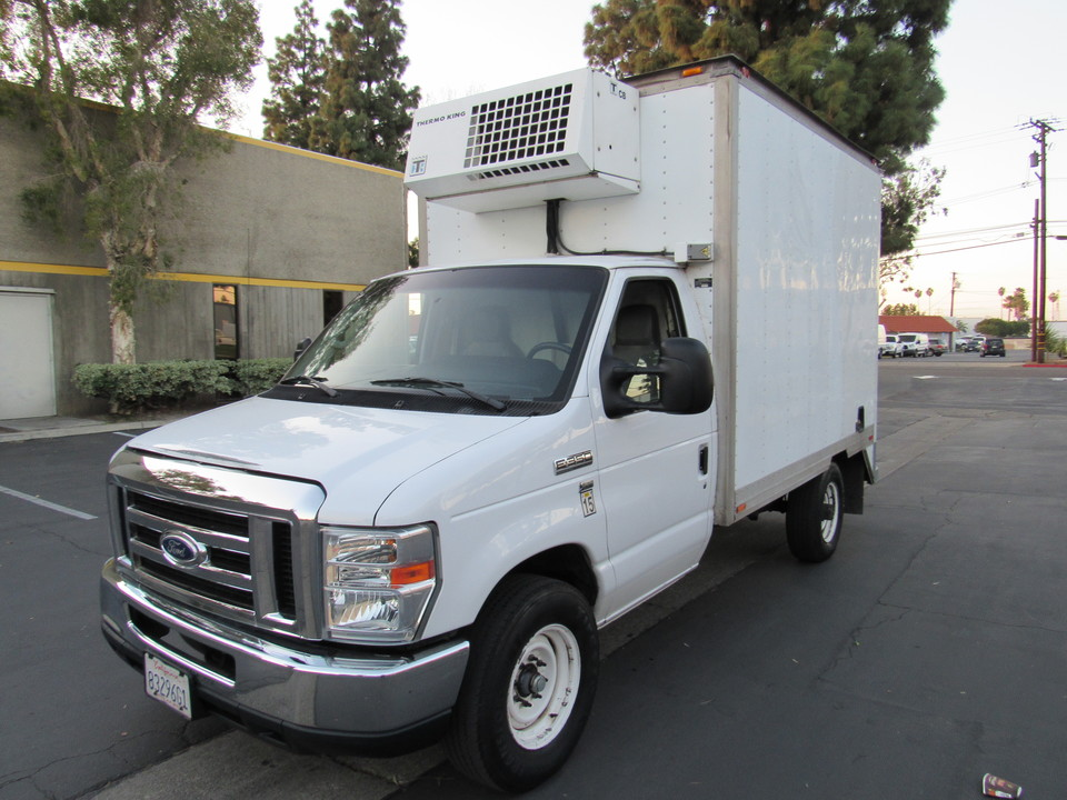 2016 Ford E-350 REFFER/ box cutaway  - 4586  - AZ Motors