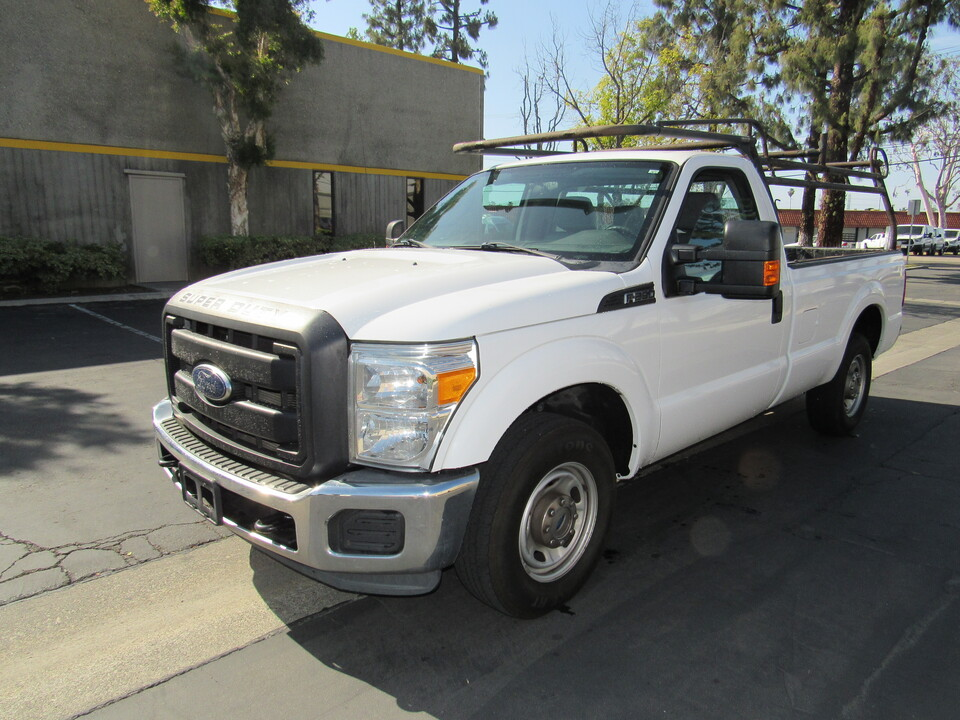 2014 Ford F-250 XL reg cab long bed /lumber rack  - 1983  - AZ Motors