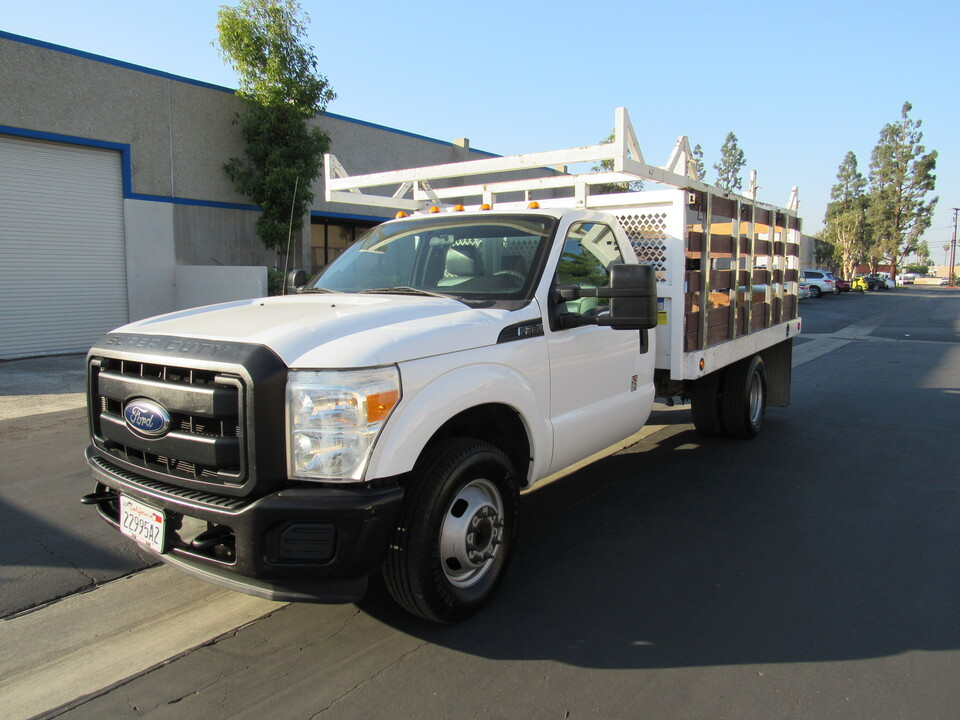 2015 Ford F-350 XL REG CAB STACK BED( 12  - 3354  - AZ Motors