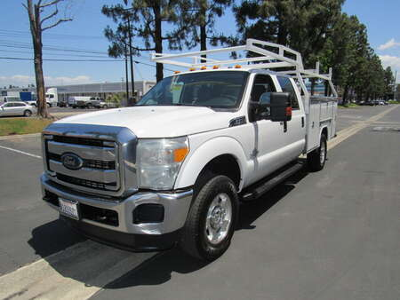 2015 Ford F-350 XLT crew cab utilithy bed/lumber rack -4wd for Sale  - 7875  - AZ Motors