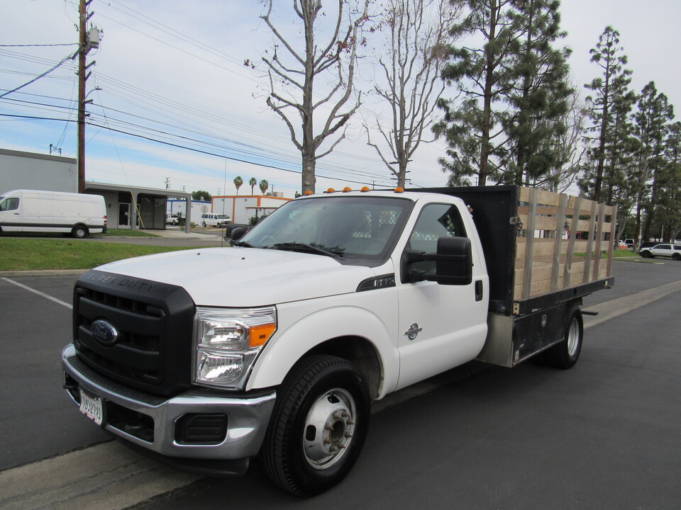 2016 Ford F-350 XL 12 ' STACK BED DRW DIESEL  - 0194  - AZ Motors