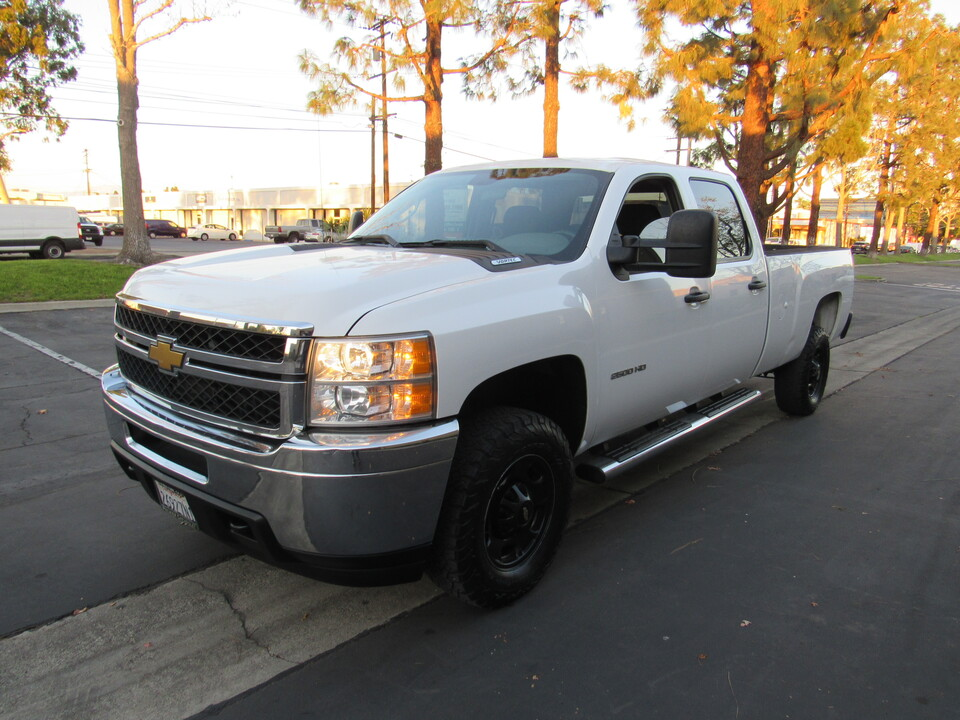 2014 Chevrolet Silverado 2500HD Work Truck CREW CAB LONG BED 2WD  - 6787  - AZ Motors
