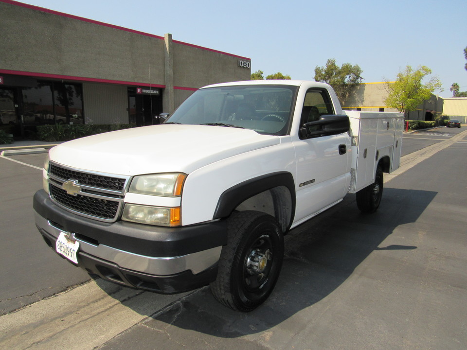 2006 Chevrolet Silverado 2500HD LS/ utility bed  - 1880  - AZ Motors