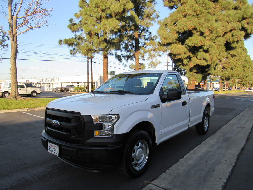 2016 Ford F-150 XL reg cab long bed PW-PDL-P/MIRROR  - 6653  - AZ Motors