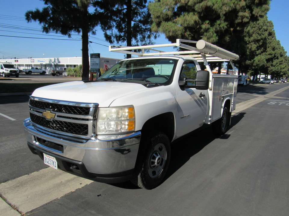2011 Chevrolet Silverado 2500HD Work Truck UTILITY BED  - 4510  - AZ Motors