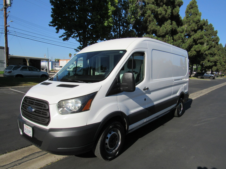 2015 Ford Transit Cargo Van MED ROOF T250 148 Eco Boost  - 2517  - AZ Motors