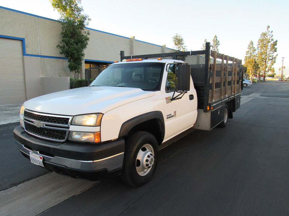 2006 Chevrolet Silverado 3500 WT stack bed with  tommy lift-13 feet bed  - 3265  - AZ Motors