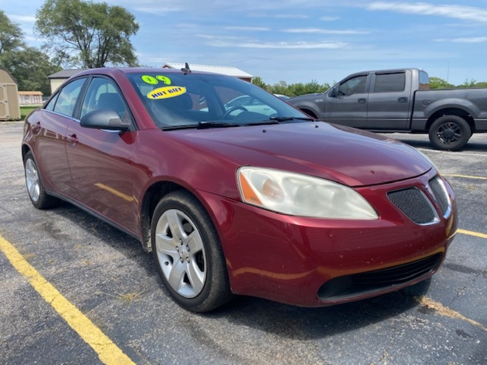 2009 Pontiac G6 w/1SA *Ltd Avail*  - L4355R  - Family Motors, Inc.