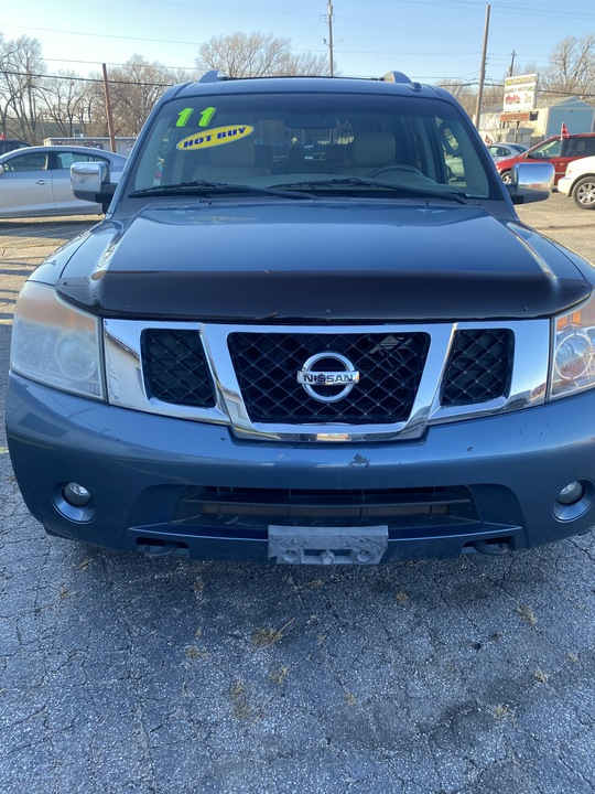 2011 Nissan Armada SL  - L4327R  - Family Motors, Inc.
