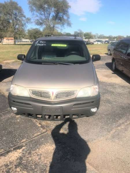 2003 Pontiac Montana Van for Sale  - FL4237  - Family Motors, Inc.