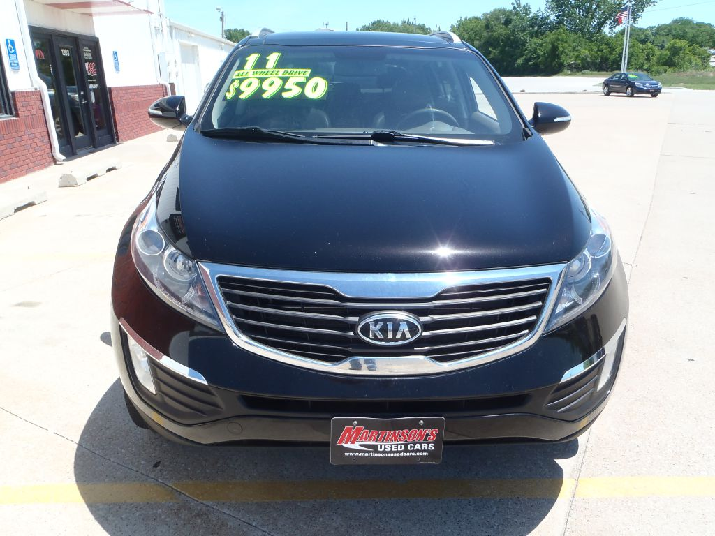2011 Kia Sportage  - Martinson's Used Cars, LLC