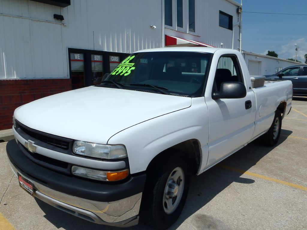 2002 Chevrolet Silverado 1500  - Martinson's Used Cars, LLC