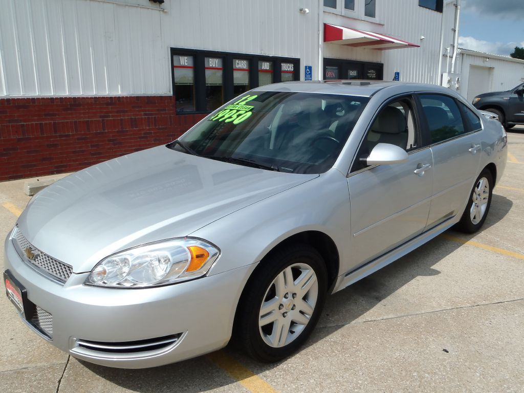 2012 Chevrolet Impala  - Martinson's Used Cars, LLC