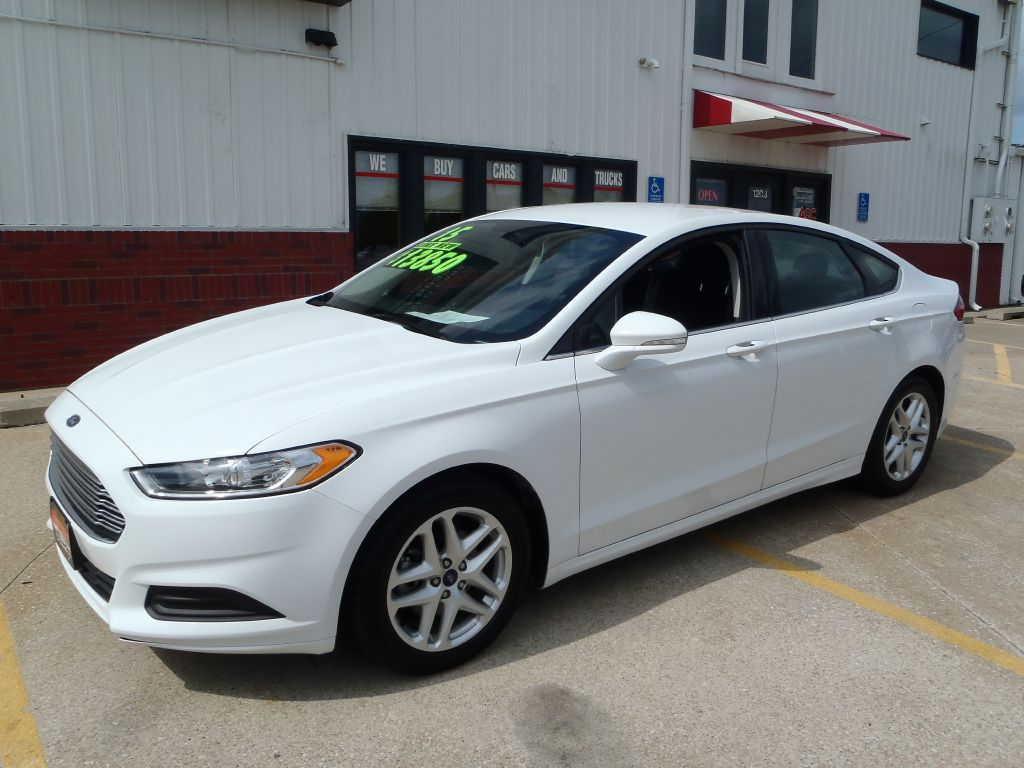 2015 Ford Fusion  - Martinson's Used Cars, LLC
