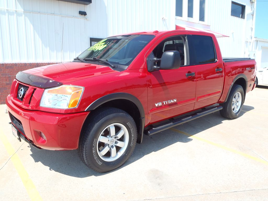 2010 Nissan Titan  - Martinson's Used Cars, LLC